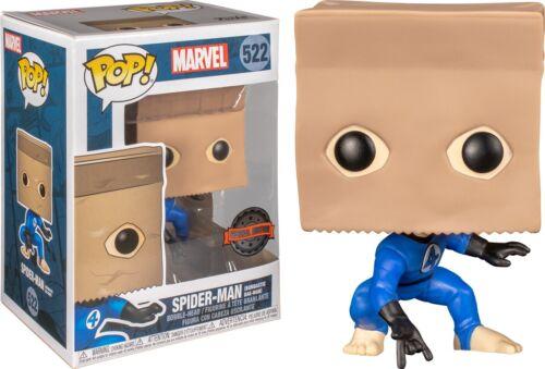 POP Spider-Man Spider-Man Bombastic Bag-Man US Exclusive Pop Vinyl Vinyl