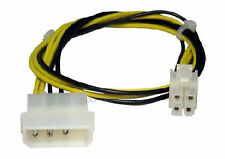 4 Pin Molex To P4/64 Bit ATX 12v Power Square Internal PC Power Cable Adaptor