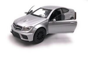 Model-Car-Mercedes-Benz-AMG-C63-Black-Series-Silver-Car-Scale-1-3-4-39