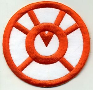 2-5-034-Orange-Lantern-Corps-Classic-Style-Embroidered-Iron-on-Patch