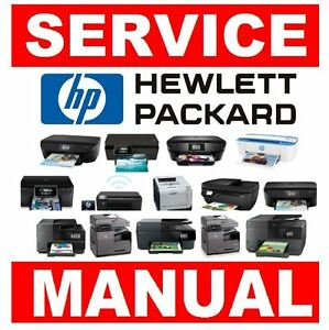 hp laserjet printer original service manual choose from 500 models rh ebay com HP PSC 1410 All in One HP Laser Printer Support