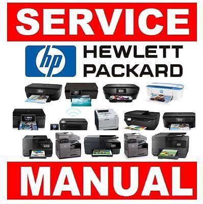 HP Laserjet Printer Original Service Manual  Choose from 500+ models! | eBay