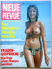 Neue Revue Nr 23/1975,  Mascha Gonska, Ileana Carati, Diether Thomas Heck