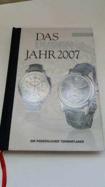 Angemessen Das Uhrenjahr 2007,terminplaner, Classique Books, 2. Edition, Neuwertig!