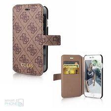 """GUESS iPhone 6,6s 4,7"""" Book Case Cover Schutzhülle Handy Tasche Motiv Logo"""
