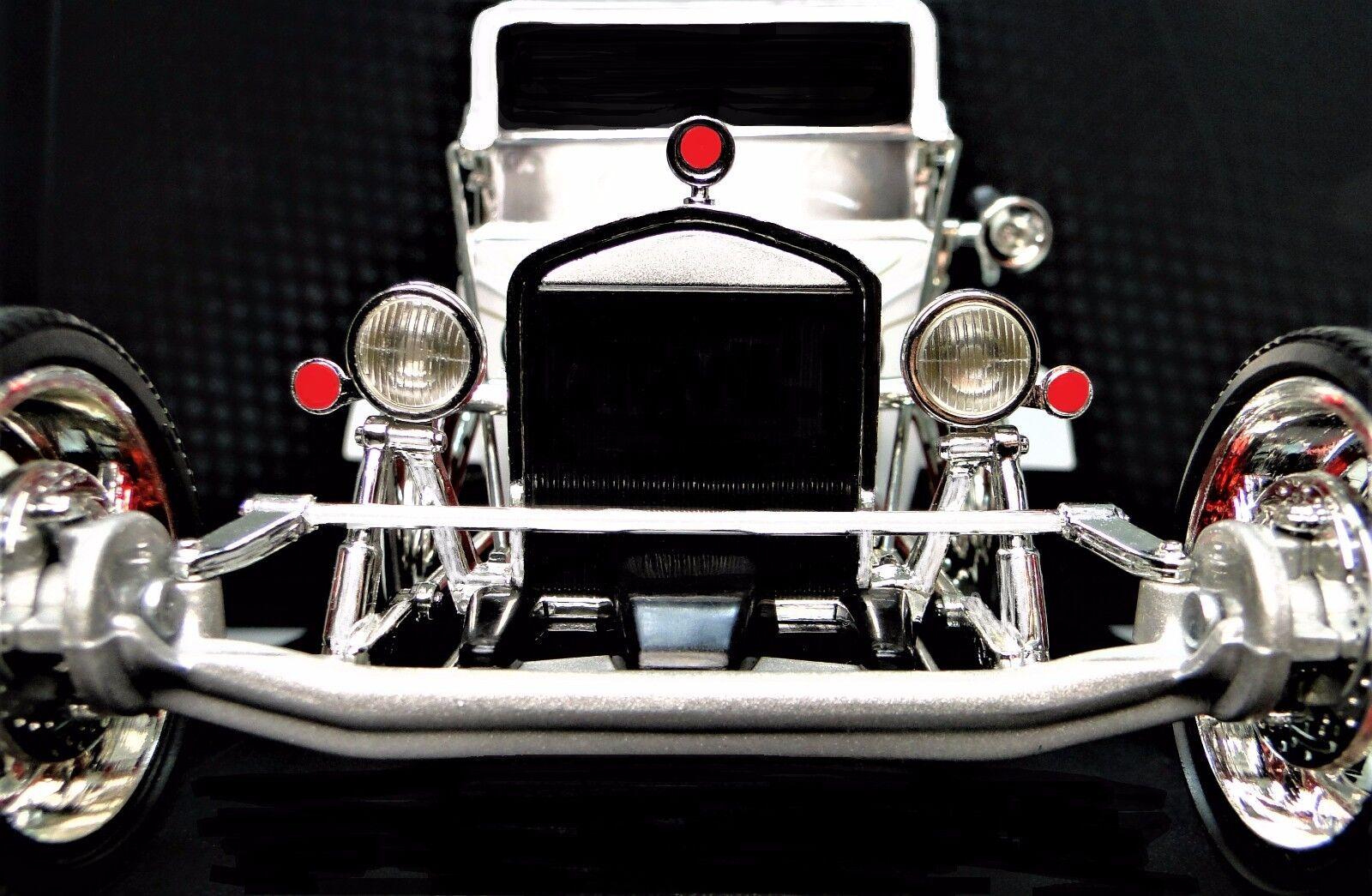 1 Ford 1910s un Modelo de Metal Vintage Hot T 12 Varilla 64 Drag Race Car 24 Sport 18