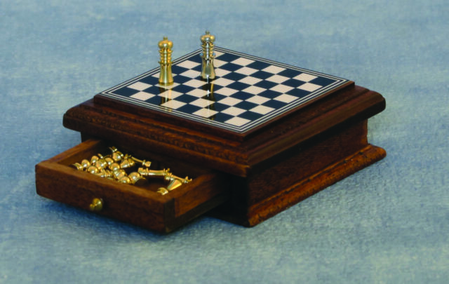 1//12 Streets Ahead Dolls House Deluxe Magnetic Chess set /& Board D2407