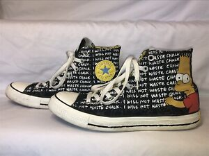 The Simpsons Converse Chuck Taylor High