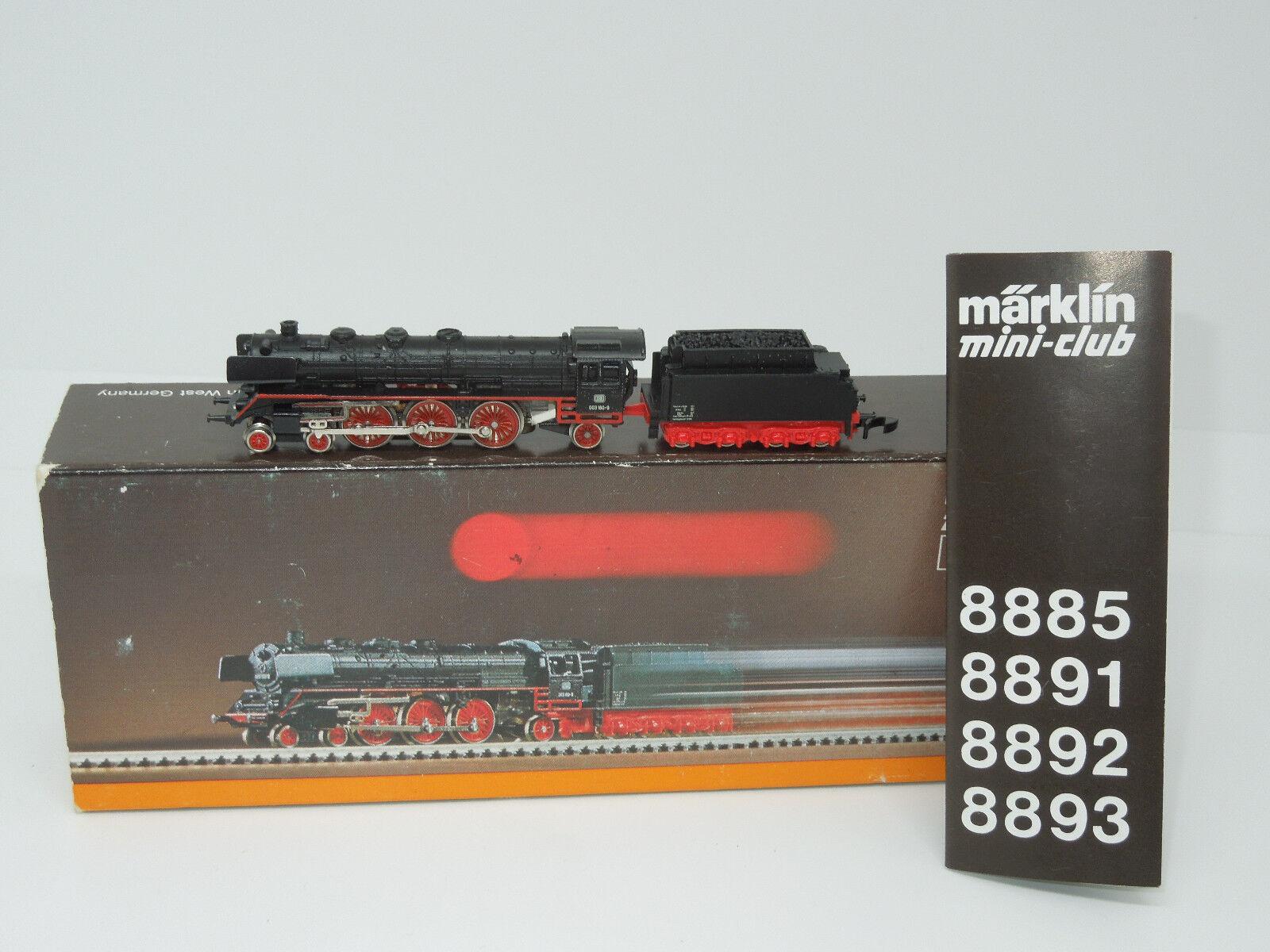 mini-club 8885 locomotiva BR 003 delle DB  3