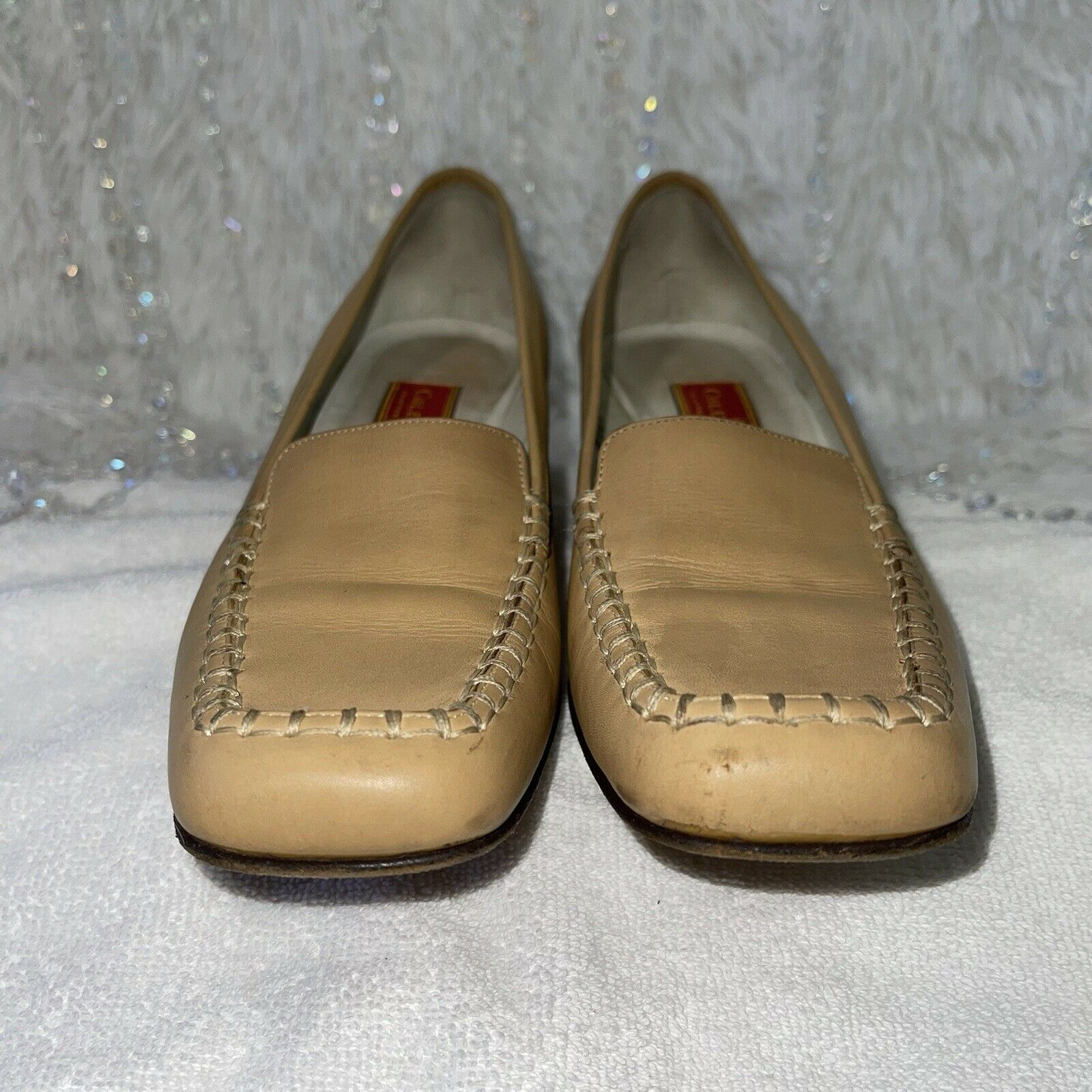 Cole Haan Country Leather Loafers Womens 8AA Tan … - image 2