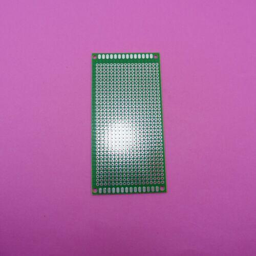5x10cm FR-4 soldadura placa de circuito Universal Solo Lado 2.54mm fibra vidrio PCB