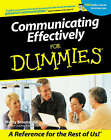Communicating Effectively for Dummies by Marty Brounstein (Paperback, 2001)
