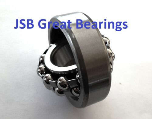 Qty.1 1204 self-aligning bearings 20x47x14 mm self align double raw bearing