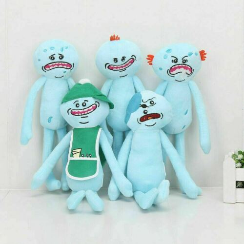 Rick and Morty plush toys Happy Sad Foamy Meeseeks Stuffed Plush Toys Gift