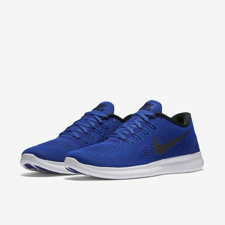 NIKE Free Royal RN New Mens Trainers Royal Free Blue Running Shoes 100% Authentic ac1bc7