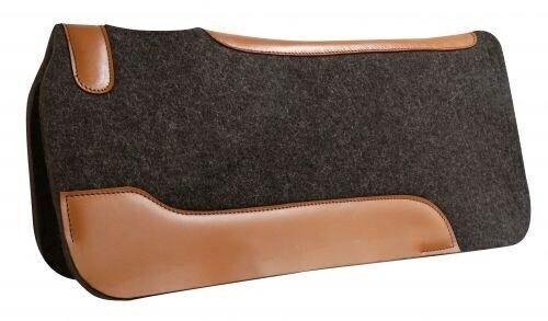 Showman 32 x31  100% Lana  De Mohair silla almohadilla con más de tamaño ropa cueros nuevo Tachuela  protección post-venta