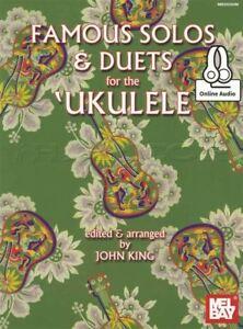 Célèbres Solos Et Duos Pour Le Ukulele Tab Music Book With Audio John King Ukulélé-afficher Le Titre D'origine Jouir D'Une RéPutation éLevéE Chez Soi Et à L'éTranger