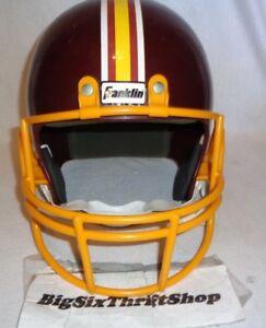 67da20c0 Details about Washington Redskins Franklin Replica NFL Football Helmet  Youth Kids Plastic