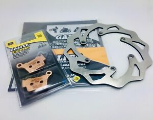 KTM-SX-144-Galfer-Rear-Disc-Brake-Rotor-220mm-DF607W-amp-Pads-Enduro-Motocross