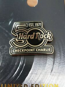 Hard Rock Cafe Checkpoint Charlie 50th Anniversary   Pin