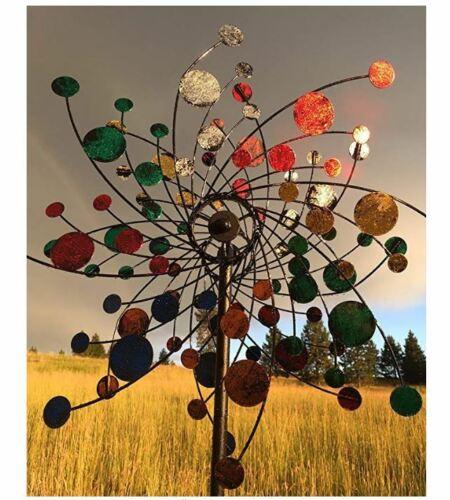 Large Metal Wind Spinners Kinetic Garden Windmill Outdoor Lawn Decor Art Modern