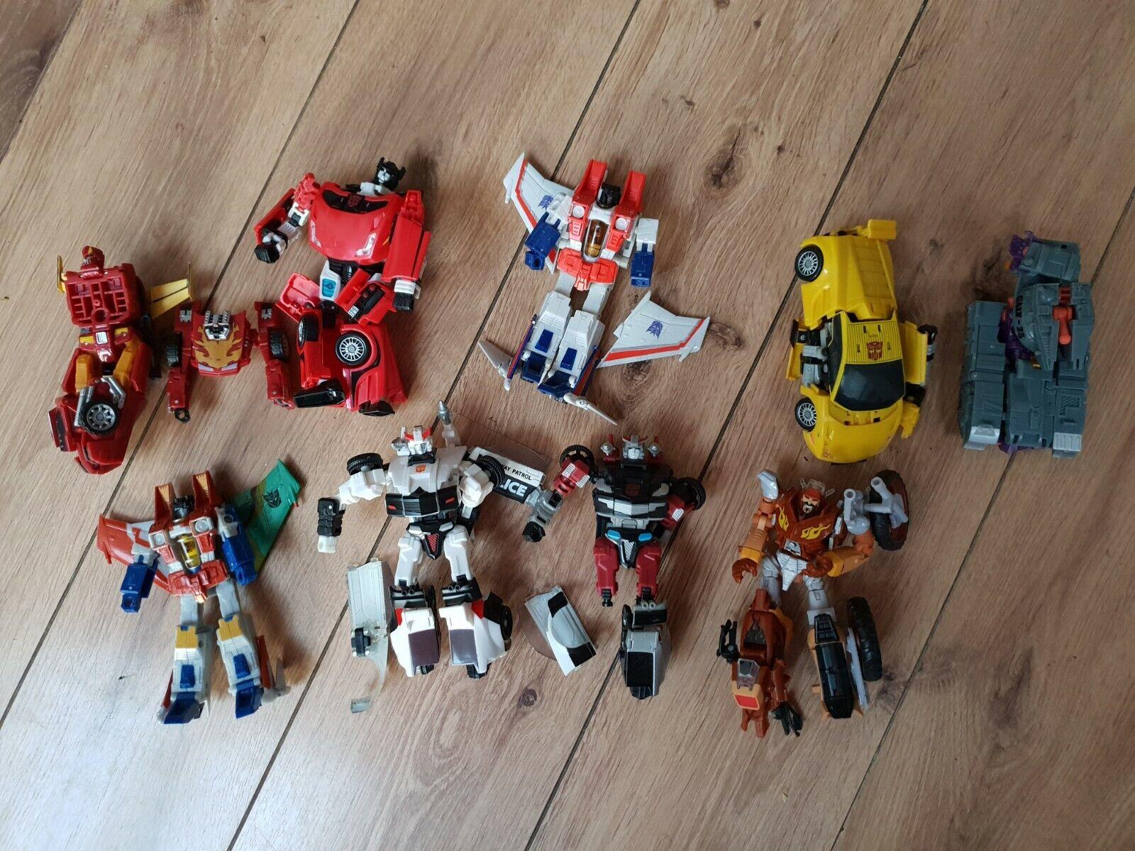 Transformers classeICS ricambi riparazioni estrellaSCREAM Sideswipe sunstreaker CACCIA