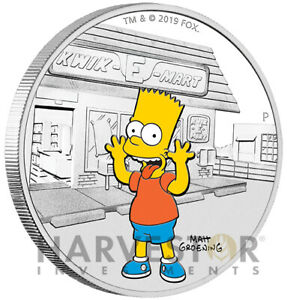 2019-THE-SIMPSONS-BART-SIMPSON-1-OZ-SILVER-COIN-WITH-OGP-MINTAGE-5-000