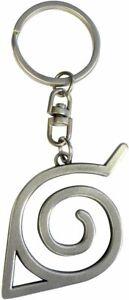 Keychain Naruto Shippuden Konoha Logo 3D Metal Keychain 2in Abystyle