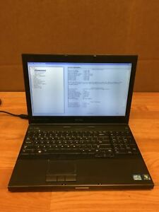 Dell-Precision-M4600-Laptop-i7-2720QM-2-20-Ghz-8GB-500GB-Working-Free-Shipping