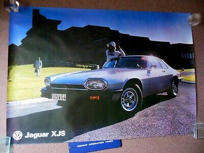 Original British Leyland Jaguar Xjs Uk Dealer Poster 39 By 29 Ebay