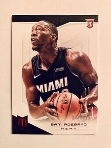 2017-18-Bam-Adebayo-Panini-Chronicles-RC-Rookie-99-Miami-Heat-339