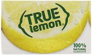 True-Lemon-Bulk-Pack-500-Count-New-Free-Shipping