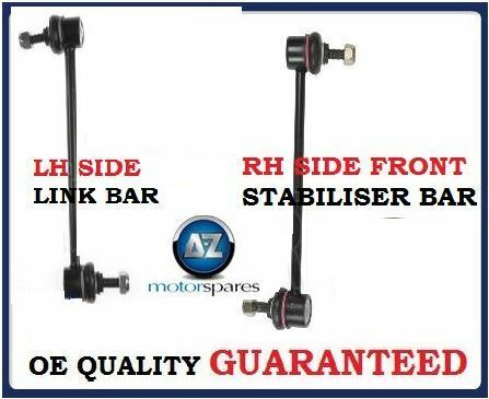 FOR HYUNDAI   i10  2008-/> NEW 2 X FRONT  STABILISER LINK BAR *OE QUALITY*