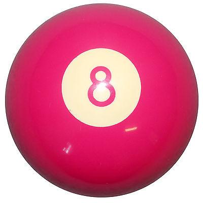 Hot Pink 8 Ball shift knob M10x1.50 thrd