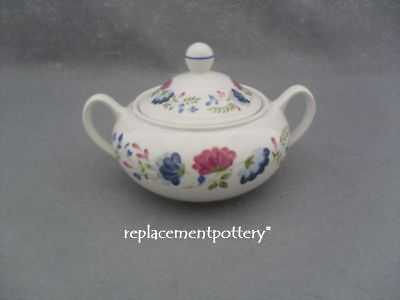 Pottery, Porcelain & Glass Trend Mark Bhs Priory Covered Sugar Bowl Top Watermelons Pottery