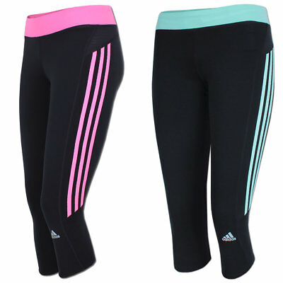 adidas Damen Response 3/4 Tight ClimaLite Laufhose Fitnesstight Running  Hose | eBay