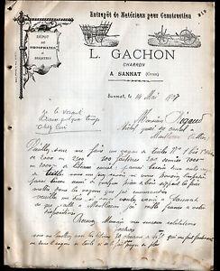 SANNAT-23-FORGE-amp-CHARRONNAGE-MATERIAUX-034-L-GACHON-Charron-034-en-1907