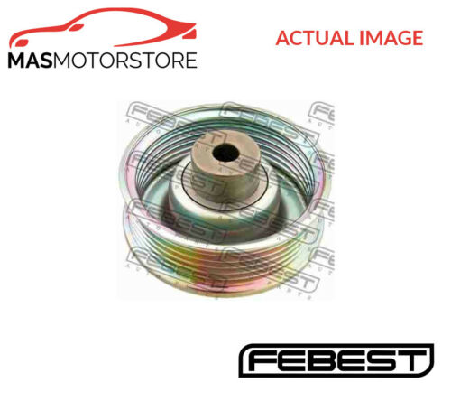0187-ZZE120 FEBEST V-RIBBED BELT DEFLECTION PULLEY L NEW OE REPLACEMENT