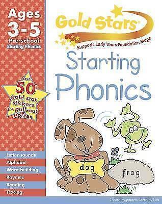 1 of 1 - Gold Stars Starting Phonics Preschool Workbook (Gold Stars Pre School Workbook),