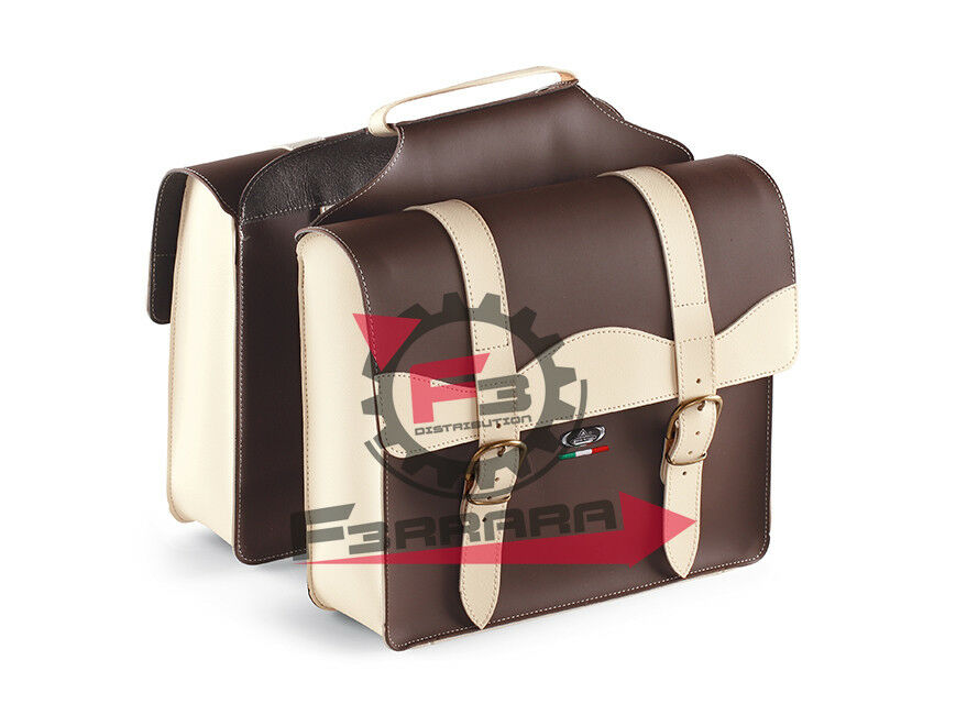 061.0024V-TM BOLSAS DE MESSENGER BAULETTO brown OSCURO CREMA
