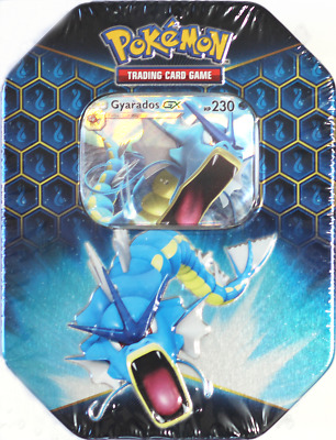 Pokémon Sealed Hidden Fates Tin Gyarados Edition