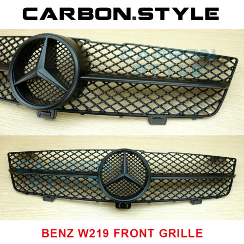 M-Benz CLS CLASS W219 CLS350 CLS500 AMG 2008-10 Matte Black Front Grill