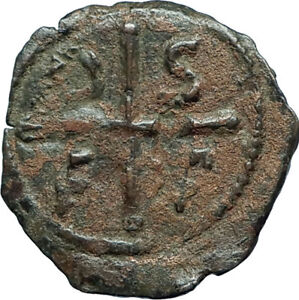 CRUSADERS-of-Antioch-Tancred-Ancient-1101AD-Byzantine-Time-Coin-St-Peter-i66099
