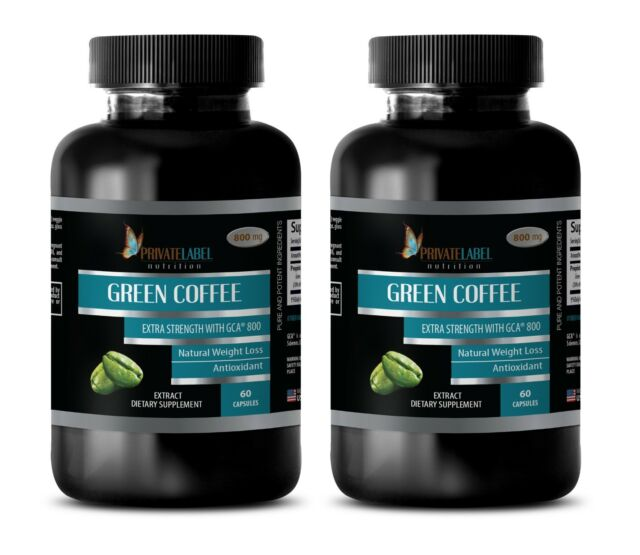30 Day Supply Of Green Coffee Bean Extract Capsules Weight Loss Slimming Pills For Sale Online Ebay