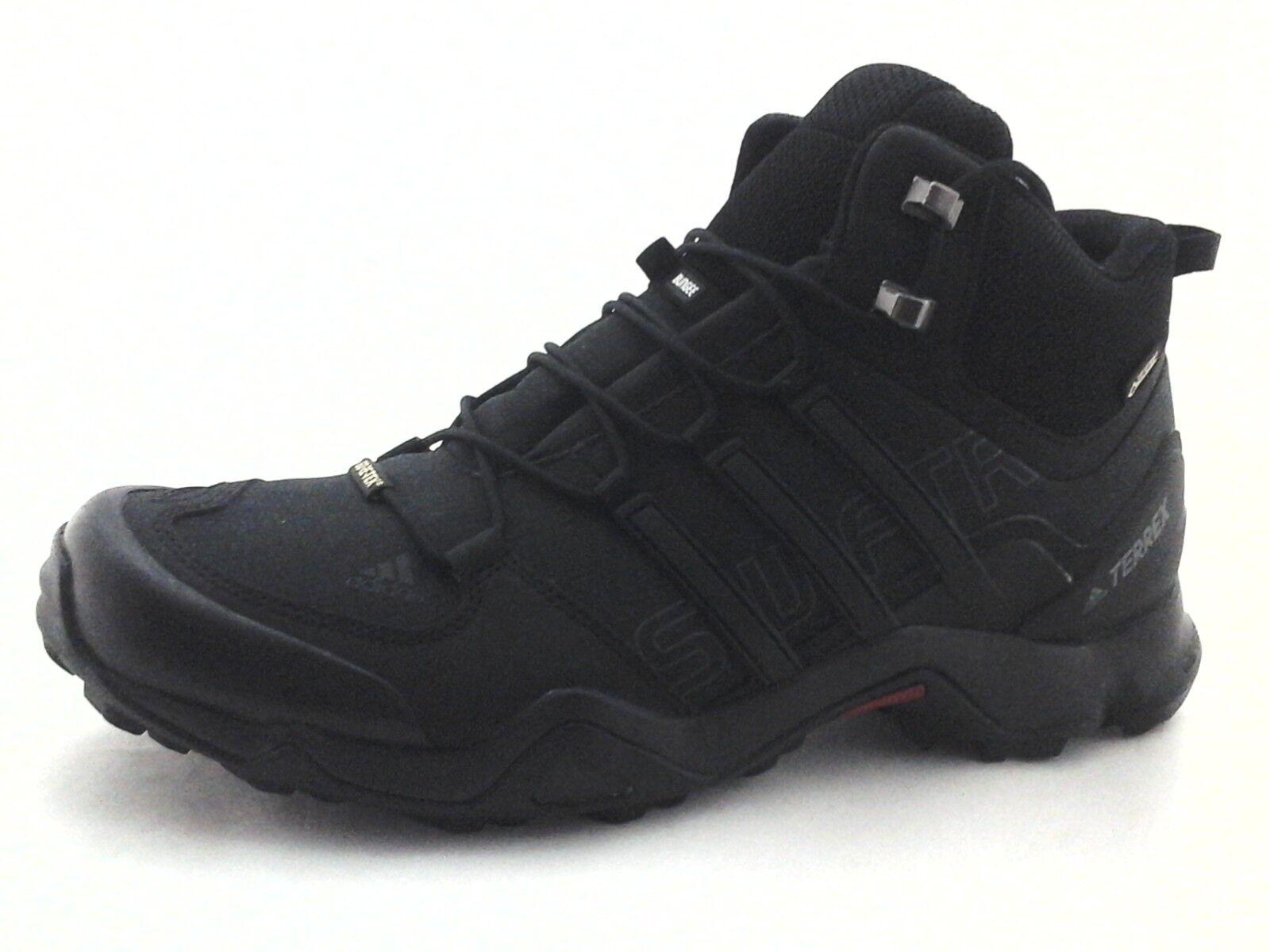 Adidas TERREX Hiking Boots Swift R Mid Black Gore-tex BB4638 US 11 EU 45 1 3 New