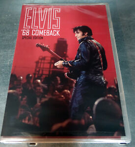 Elvis-68-Comeback-Special-DVD-Special-edition-FACTORY-SEALED-RARE-Region-1