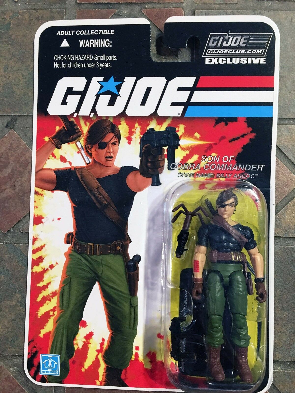 Gi Joe Billy Arbco Fss 4.0 Con Club de de de Collectionneurs Figurine Exclusive 2016 be9906