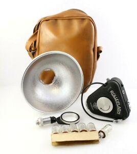 Vintage-Rolleiflash-Rollei-F-amp-H-Flash-Bay-1-Germany-W-Case