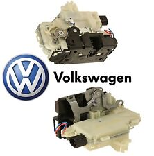 VW Jetta Passat Pair Set of 2 Rear Door Lock Latch Actuator Mechanisms GENUINE