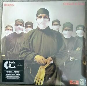RAINBOW - Difficult to Cure  BACK TO BLACK Limited VINYL LP NEU